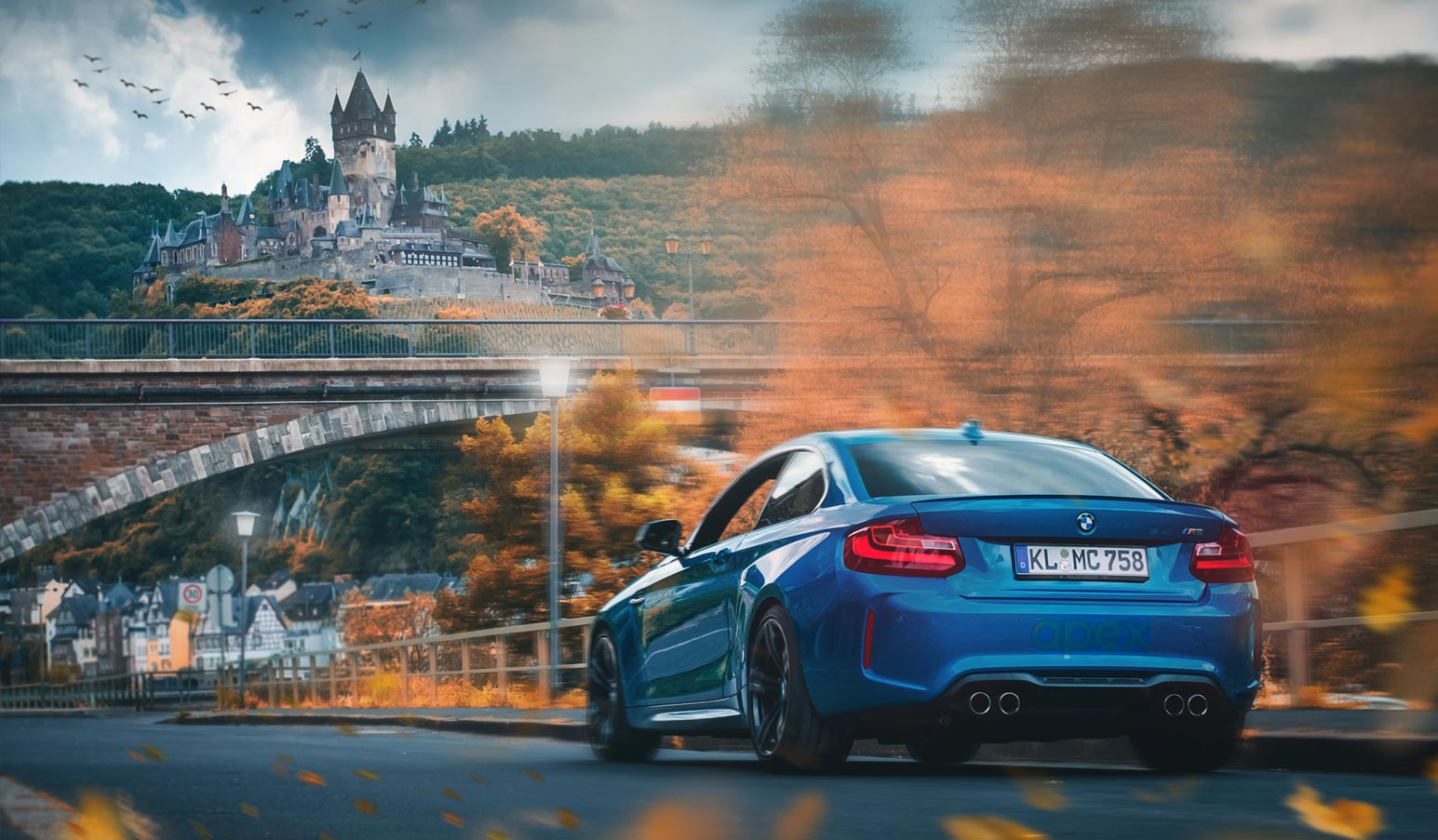 Car racing offered by apex Nürburg in Germany