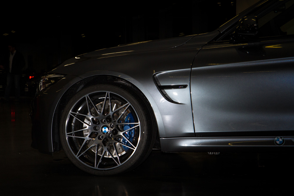 Impressive rims on our BMW M3 Schirmer GT which can be used for our Apex Nürburg Taxi Laps
