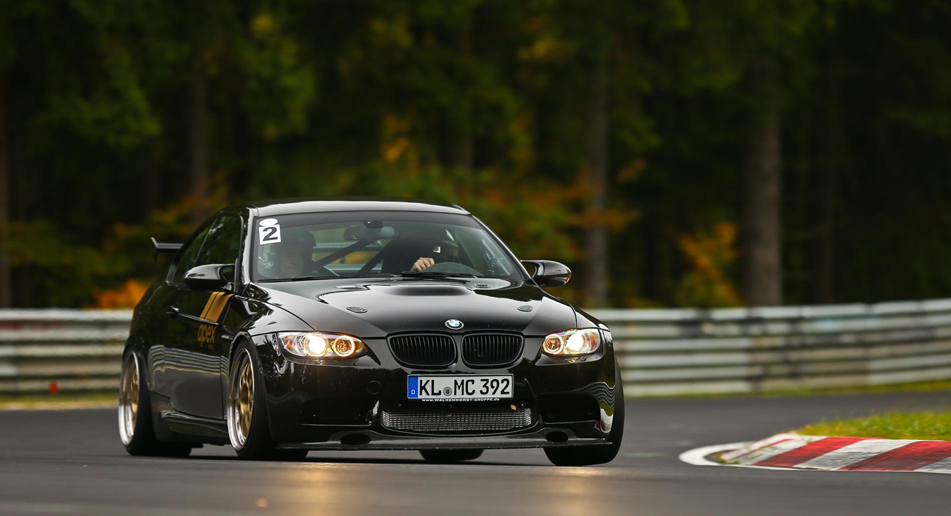 The track days at Apex Nürburg are unforgettable.