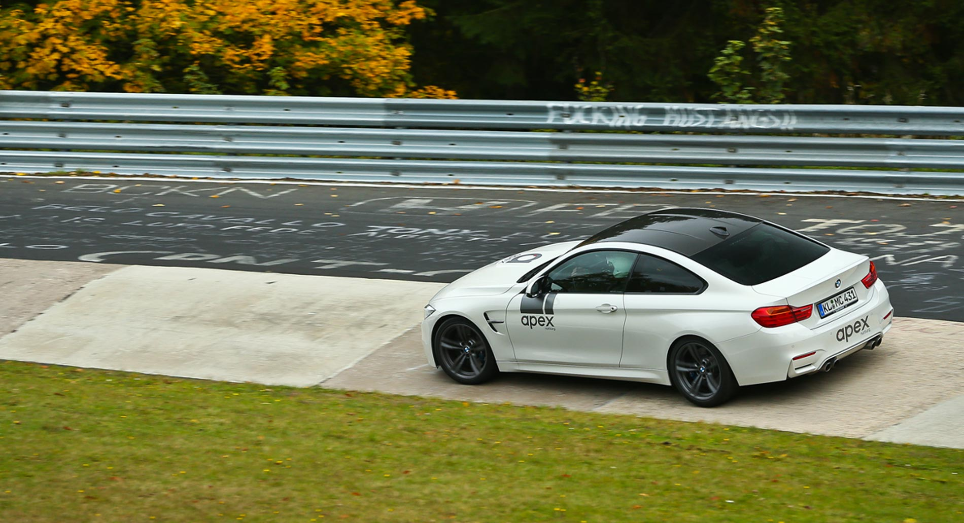 Apex track days at the Nürburgring are a great experience for everybody who loves racing.