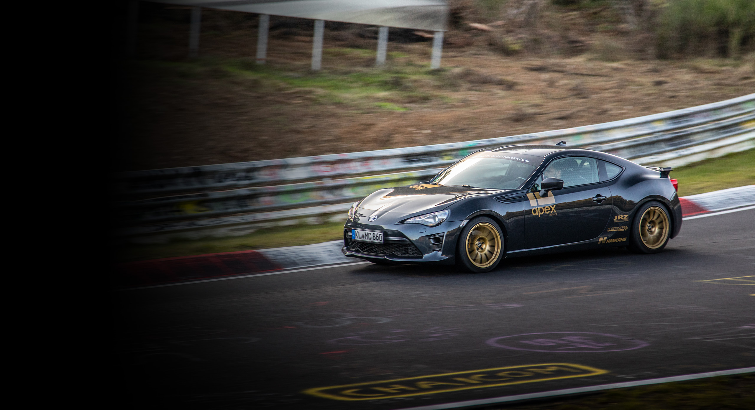 With the Nürburgring Taxi you can have the lap of a lifetime